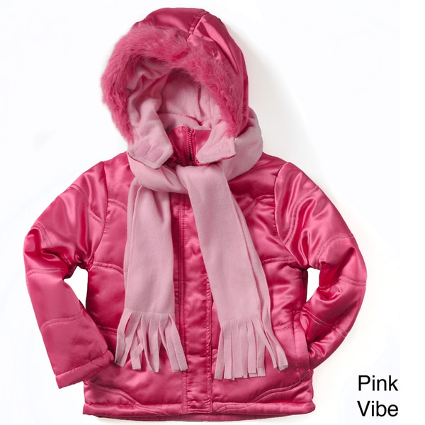 Rothschild Girl's Jacket and Scarf Set