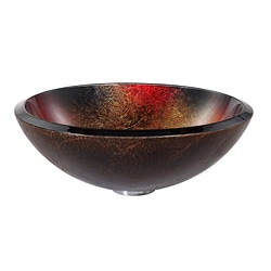 Kraus Copper Mercury Glass Vessel Sink