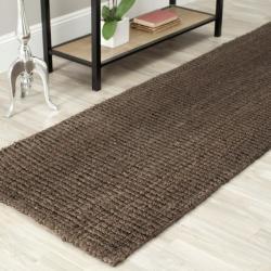 Safavieh Hand-woven Weaves Brown Fine Sisal Rug (2'6 x 8')