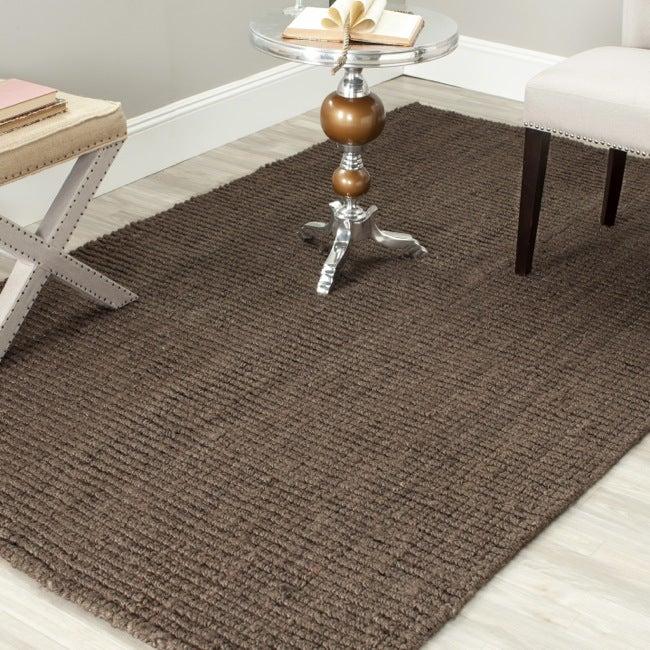 Safavieh Hand-woven Weaves Brown Fine Sisal Rug (3' x 5')