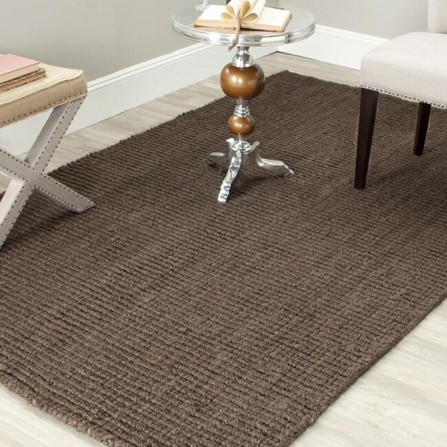 Safavieh Hand-woven Weaves Brown Fine Sisal Rug (9' x 12')