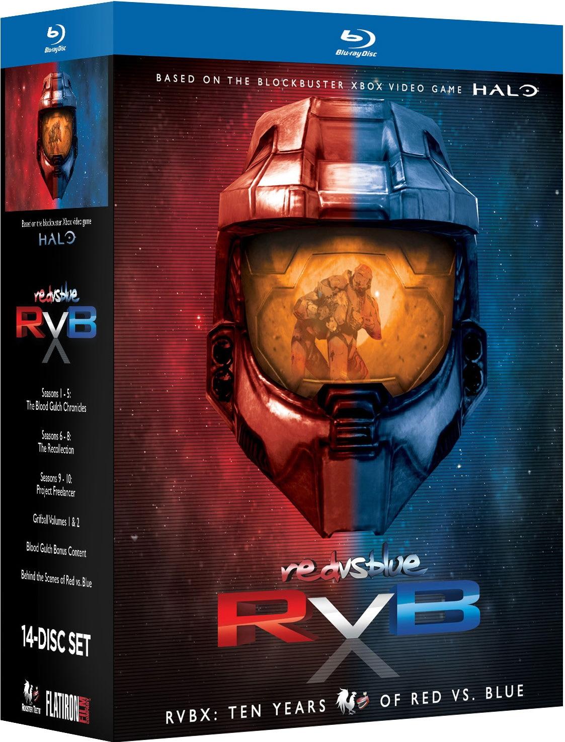 RVBX: Ten Years of Red Vs. Blue (Blu-ray Disc)