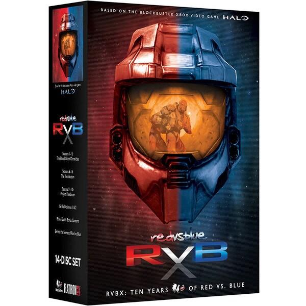 RVBX: Ten Years of Red Vs. Blue (DVD) 9537002