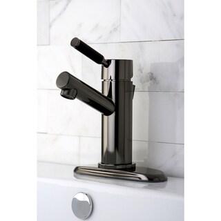 Black Nickel Single Handle Bathroom Faucet