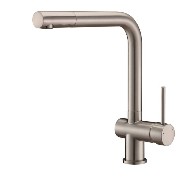 Ruvati RVF1235BN Brushed Nickel Single Handle Kitchen