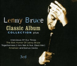 LENNY BRUCE - CLASSIC ALBUM COLLECTION PLUS