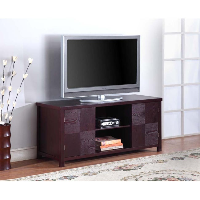 K&B Espresso Finish TV Stand at Sears.com