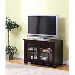 K&B Dark Chocolate Finish TV Stand