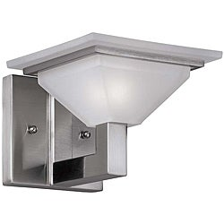 Contemporary 1 Light Nickel Bath/ Vanity