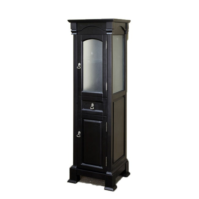 Bellaterra Home Olivia Espresso Wood Linen Tower at Sears.com