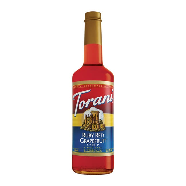 Torani 750-mL Ruby Red Grapfruit Syrup (Case of 12)