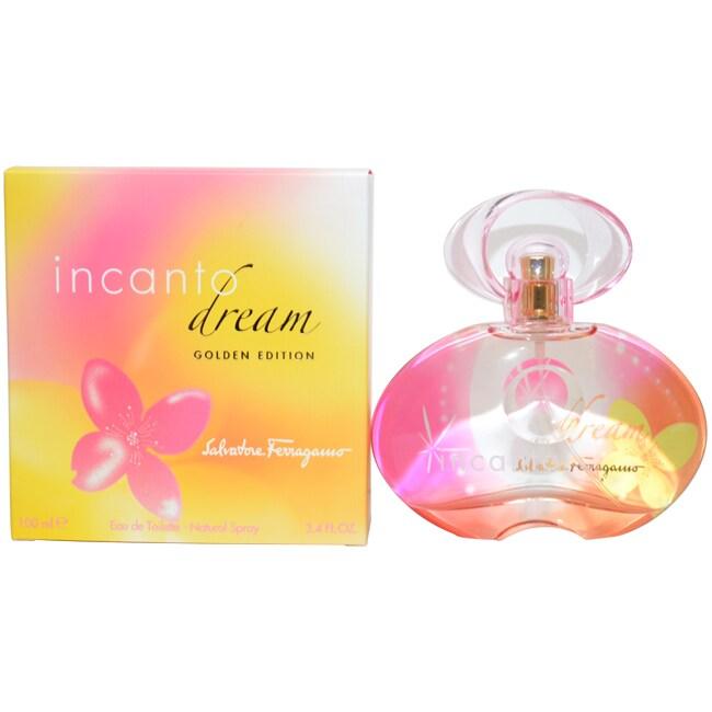 Salvatore Ferragamo 'Incanto Dream' Women's 3.4-ounce Eau de Toilette Spray (Gold Edition)