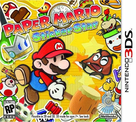 Nintendo 3DS - Paper Mario Sticker Star