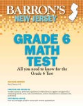 Barron's New Jersey Ask 6 Math Test (Paperback)