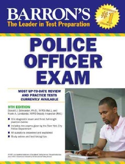 Barron's Police Officer Exam (Paperback)
