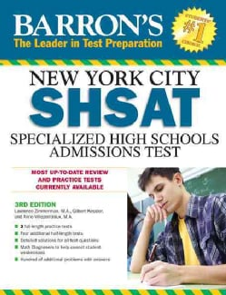 Barron's New York City SHSAT: Specialized High Schools Admissions Test (Paperback)