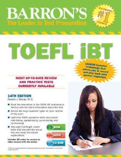 Barron's TOEFL iBT: Internet-based Test (Paperback)