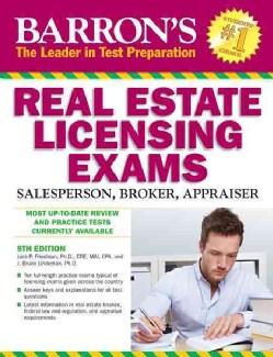 Barron's Real Estate Licensing Exams: Salesperson, Broker, Appraiser (Paperback)