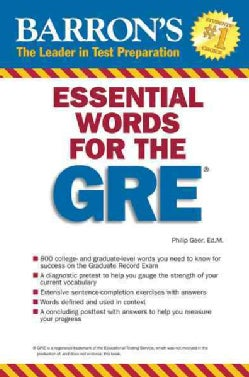 Barron's Essential Words for the GRE (Paperback)