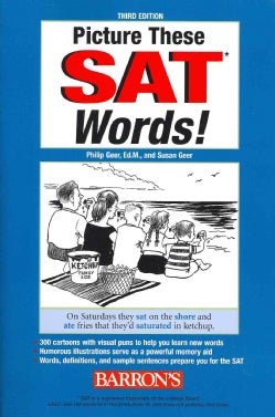 Picture These SAT Words! (Paperback)