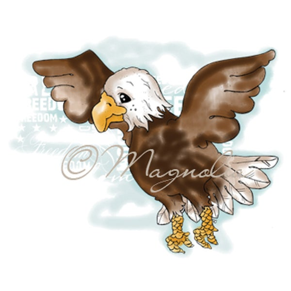 Special Cling Stamp-American Eagle