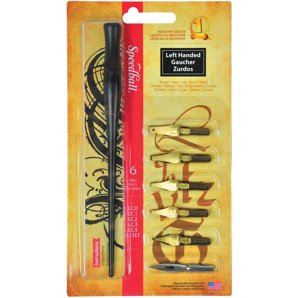 Speedball Left Handed Pen Set