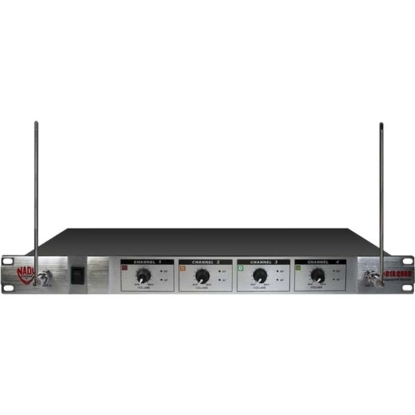 Nady 4-Channel VHF Wireless Microphone System