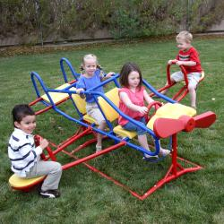 Lifetime Ace Flyer Multi-color Airplane Ourdoor Teeter-totter