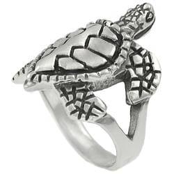 Tressa Sterling Silver Sea Turtle Ring