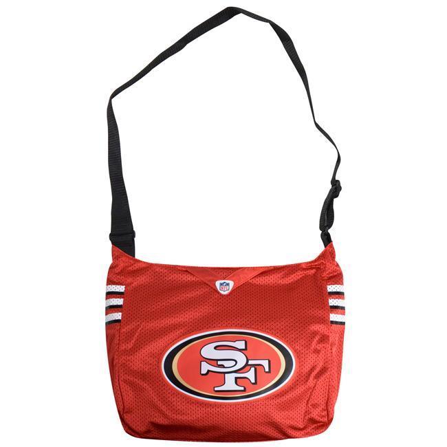 Little Earth San Francisco 49ers MVP Jersey Tote Bag