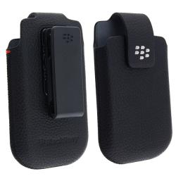 BlackBerry OEM Torch 9800 Leather Swivel Holster
