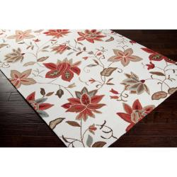 Hand-hooked Berryville Mossy Ivory Rug (2' x 2'9)