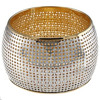 Stainless Steel Mesh Bangle Bracelet