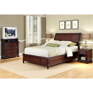 Lafayette King Sleigh Bed, Night Stand, & Media Chest