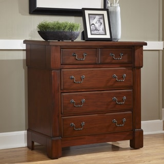 Home Styles The Aspen Collection Mahogany Drawer Chest