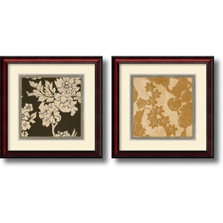 Augustine 'Textile' Framed Art Print Set