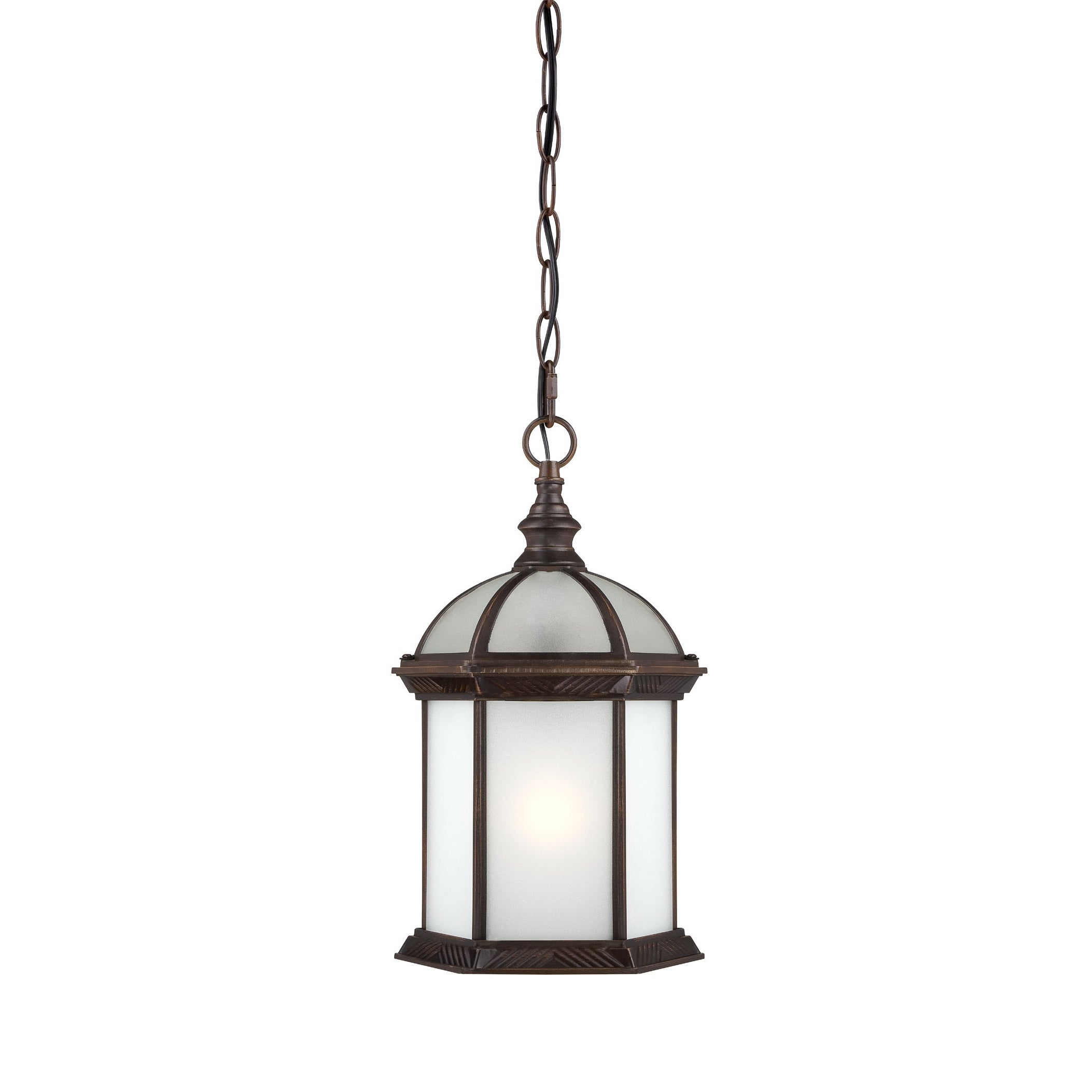 Nuvo Boxwood e Light Rustic Bronze 14 Inch Hanging