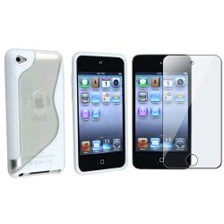 TPU Case/ Screen Protector for Apple iPod Touch 4th Generation