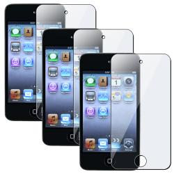 Screen Protectors for Apple iPod Touch 4th Generation (Pack of 3)