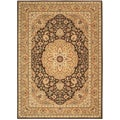 Arabesque Easton Cocoa Wool Rug (7'9 x 10'10)