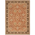 Arabesque Coventry Polished Copper Wool Rug (7'9 x 10'10)