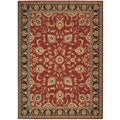 Arabesque Coventry Firebrick Red Wool Rug (7'9 x 10'10)