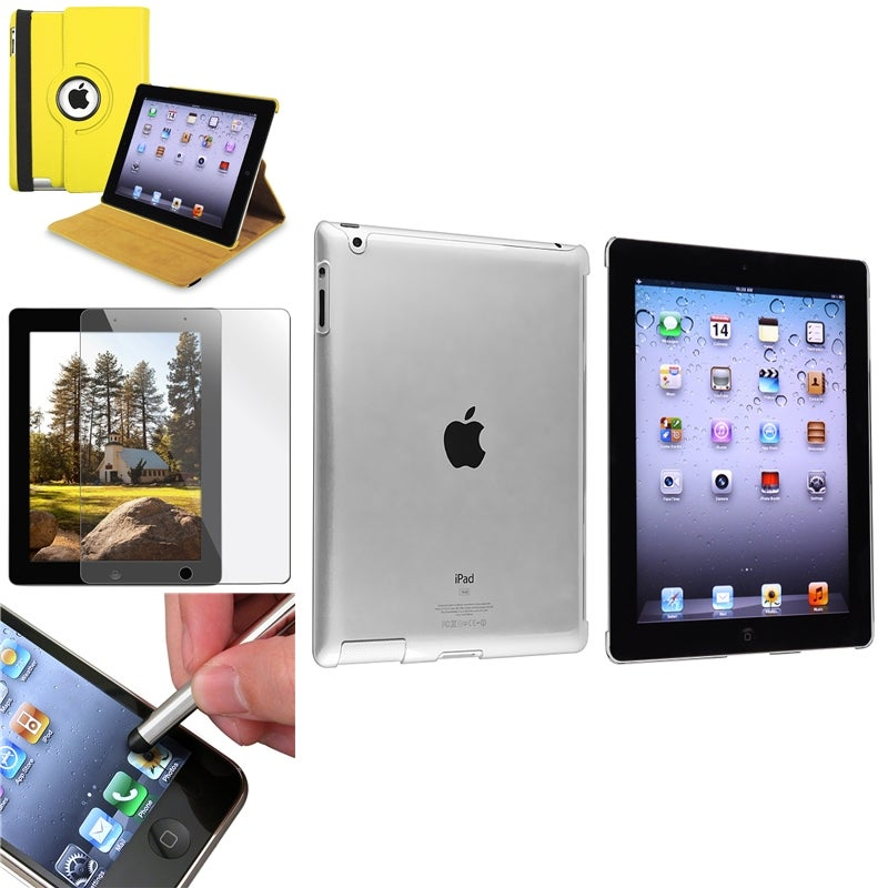 Case/ Crystal Case/ Screen Protector/ Stylus for Apple® iPad 2/ 3