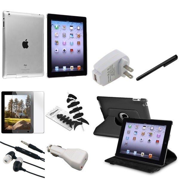 BasAcc Case/ Screen Protector/ Charger/ Stylus/ Wrap for Apple® iPad 2/ 3/ 4