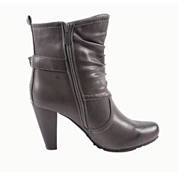 Blossom by Beston Women's 'Amanda-5' Ankle Boots