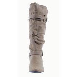 Blossom by Beston Women's 'Amar-34' Knee-High Tan Boots