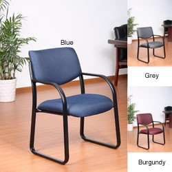 Aragon Steel Frame Fabric Guest Chair