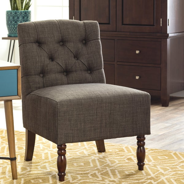 Lola Charcoal Grey Accent Chair