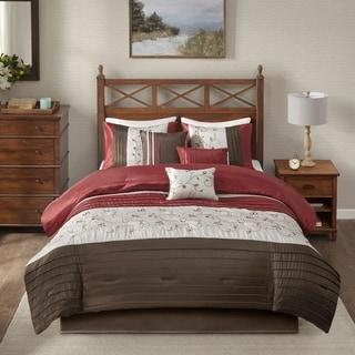 Madison Park Belle 7-piece Poly Polyoni Classic Woven Comforter Set