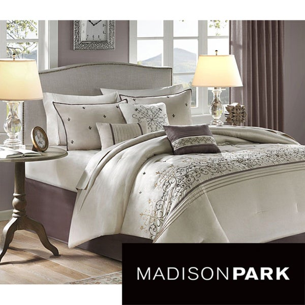 Madison Park 'Carlton' 7-piece Comforter Set